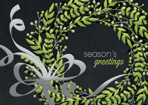 Shine Green Holiday Cards
